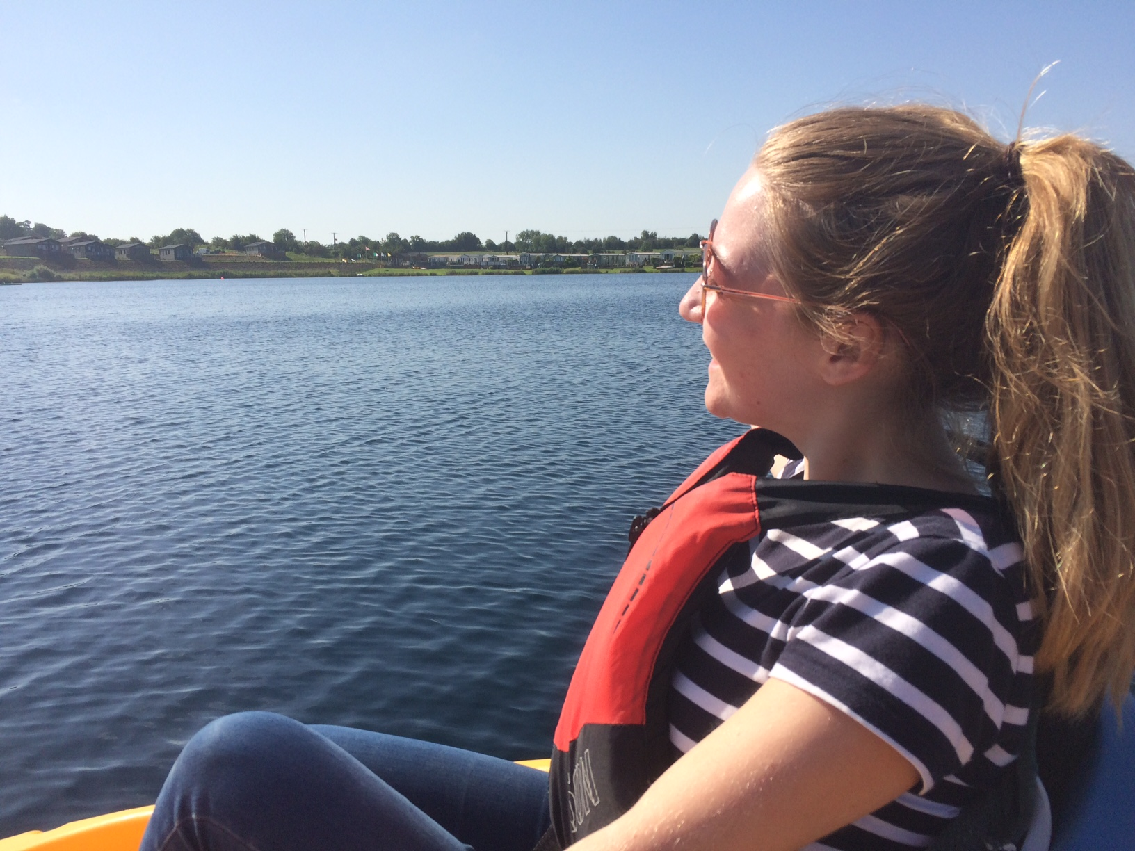 jess on the lake