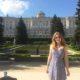 stood outside the royal palace of madrid