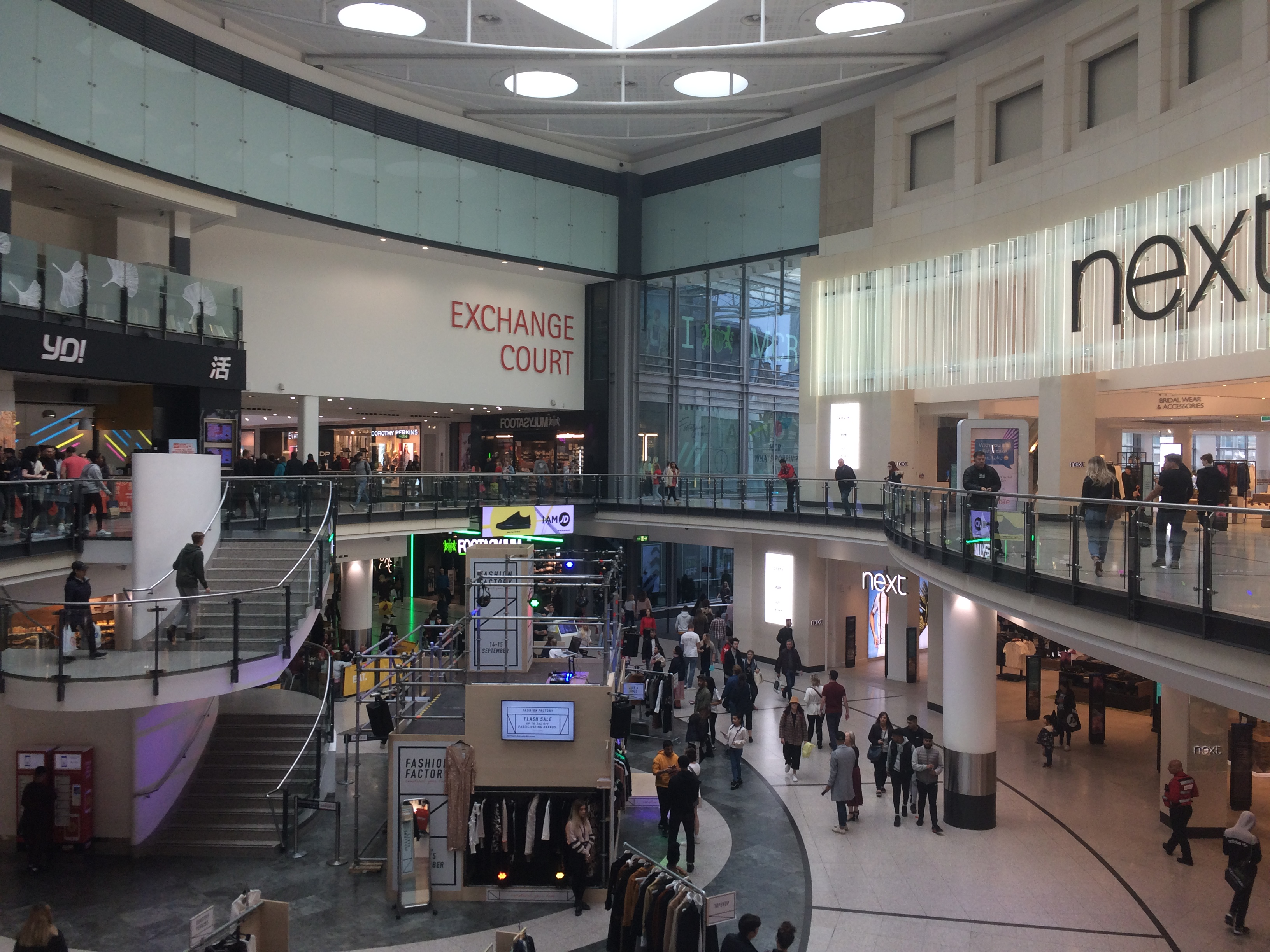the arndale centre