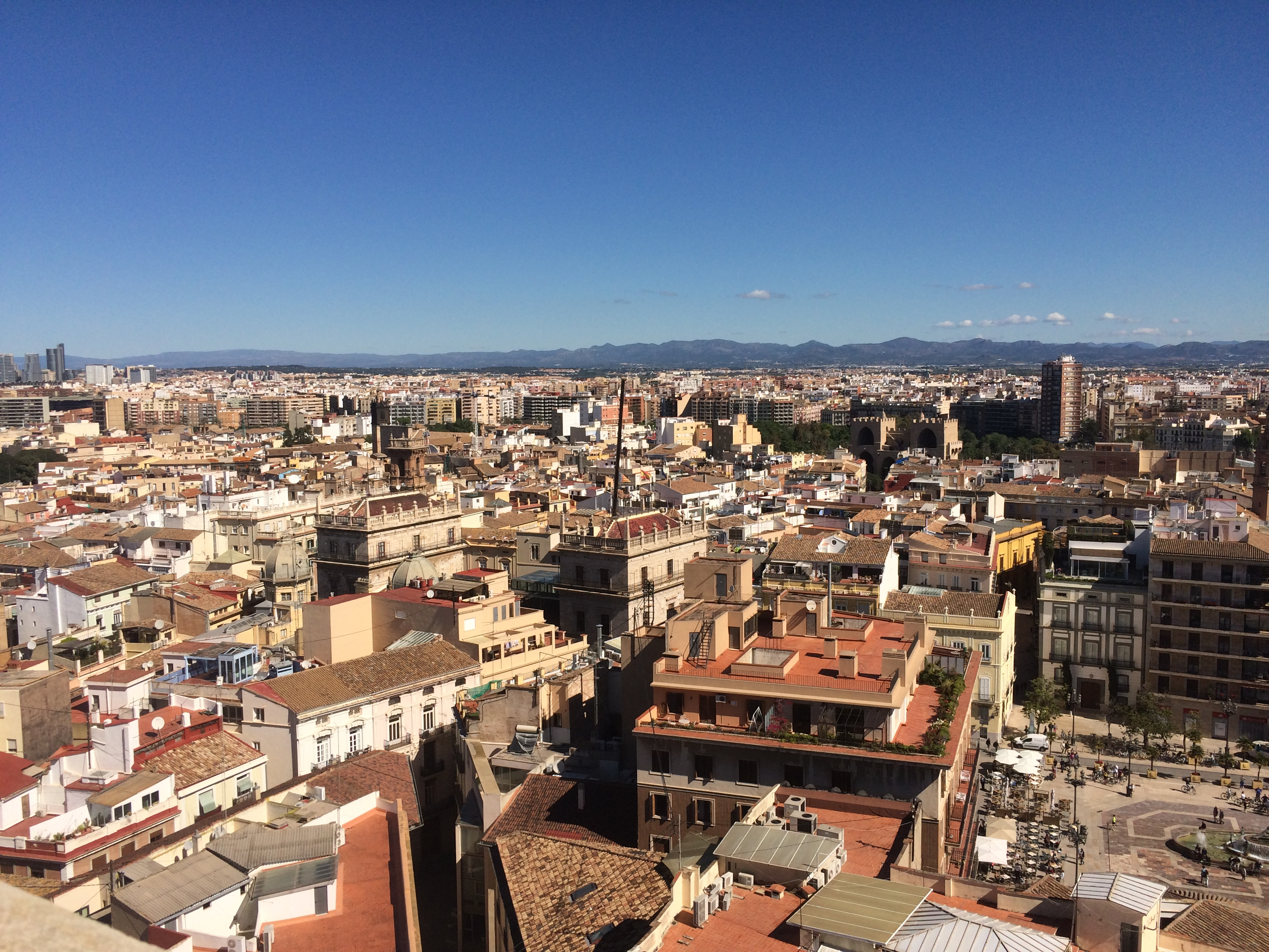 views from Valencia cathedral